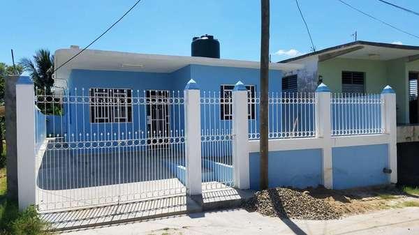 Casa de  3 cuartos, 2 baños y 1 garaje por $ 65.000 en Cienfuegos/Cienfuegos/Punta Gorda