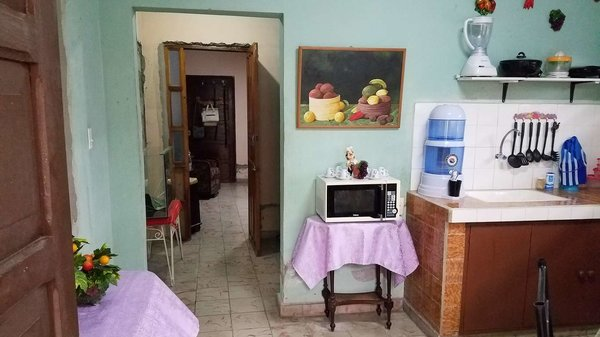Casa de  1 cuarto, 1 baño y 1 garaje por $ 25.000 en Cienfuegos, Cienfuegos