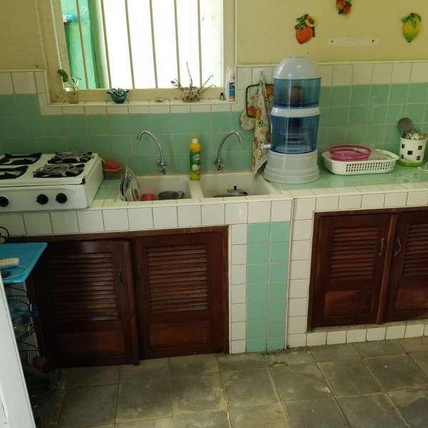 Casa de 2 cuartos y 1 baño por $ 28.000