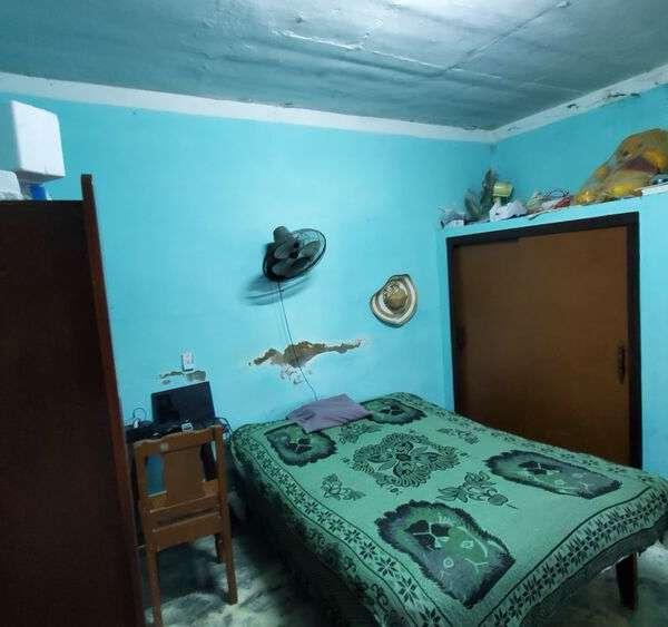 Casa de 2 cuartos y 1 baño por $ 18.000
