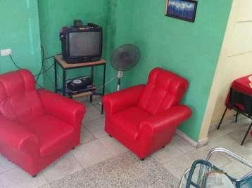 Casa en venta en Cienfuegos con  1 cuarto y 2 baños por 15.000,00$